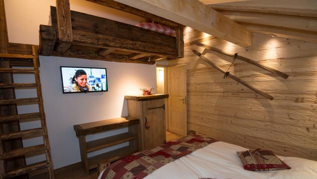 Chambre skieur La Noliere