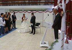 décoration salle des fêtes pour mariage laic