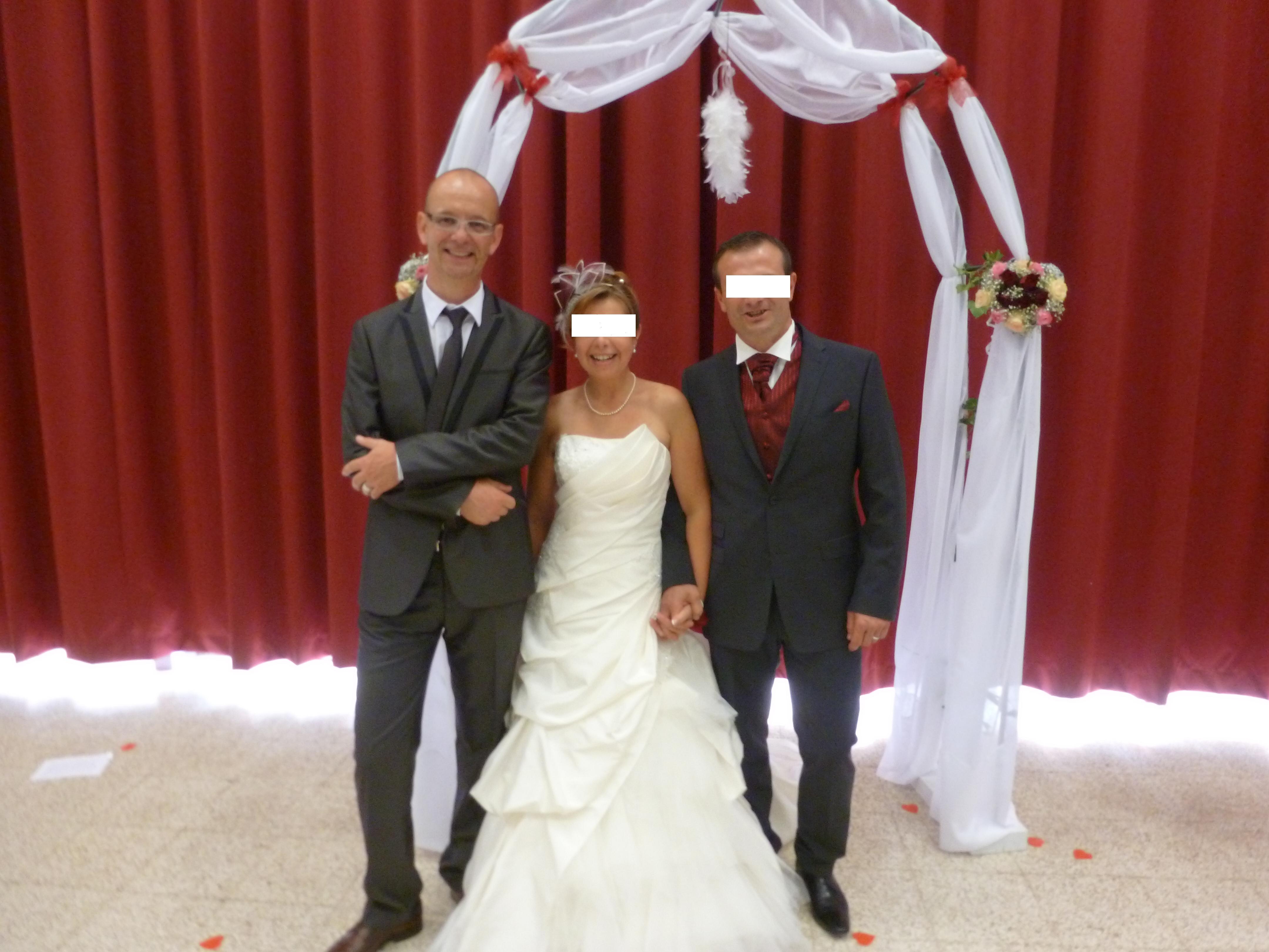 David avec Isabelle et Christophe, mariés du 070913.JPG