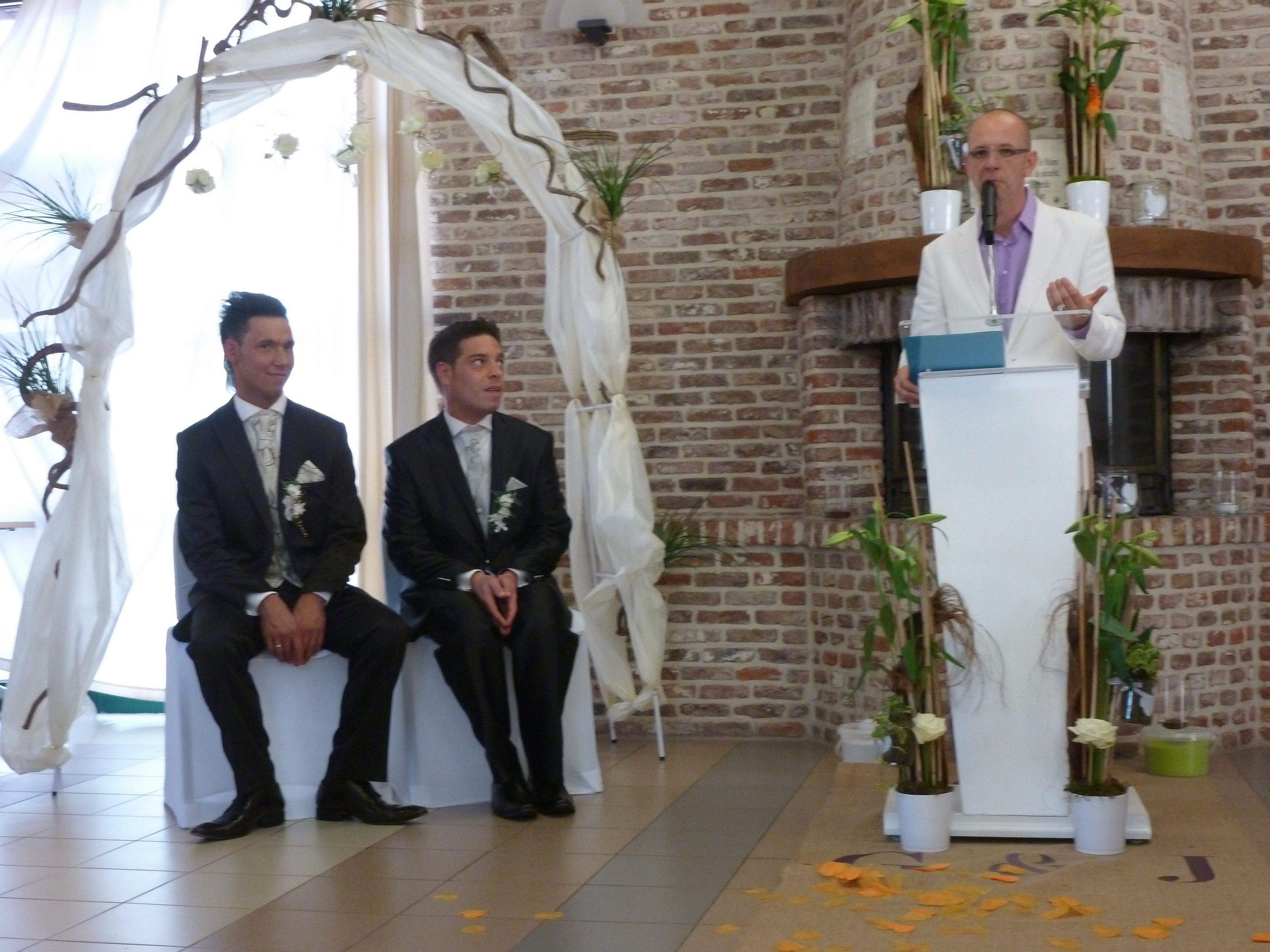 officiant mariage gay
