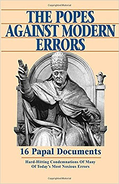 Book: The Popes Against Modern Errors (Ed. Mioni)