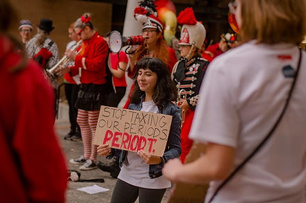 20191019 _ National Period Day WI Rally
