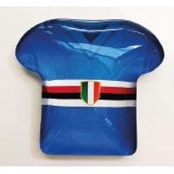 Magnete maglia blucerchiata bomboniere Comunione Cresima
