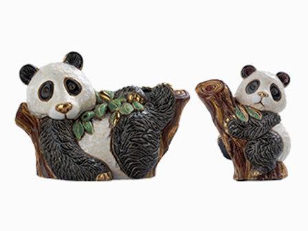 Panda sull'albero baby - De rosa collezione