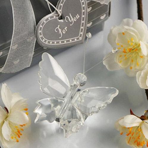 Farfalla in Cristallo Pregiato