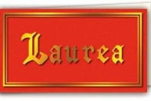 Biglietto Laurea