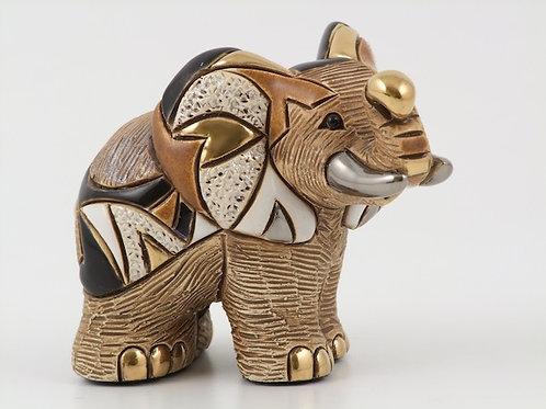 Elefante africano mamma - De rosa collezione