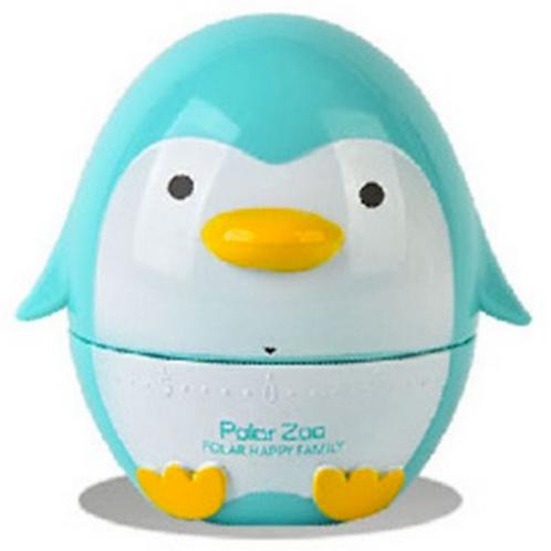 """Timer 60' da cucina Pinguino azzurro """"Skipper"""""""