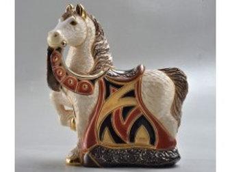Cavallo reale rosso  - De rosa collezione
