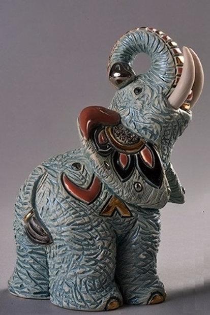 Elefante Samburu  - De rosa collezione