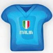 Magnete maglia azzurra Italia bomboniere Cresima Comunione