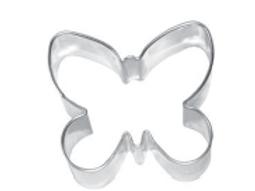 Stampino biscotti farfalla cm.6