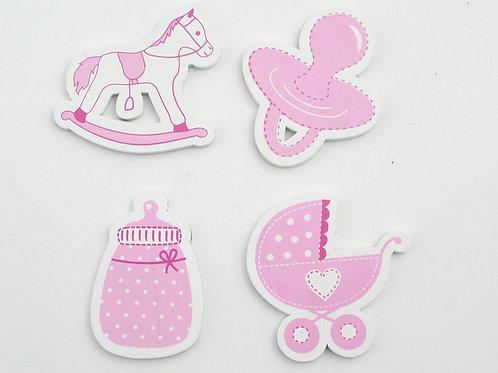Magneti Baby-Accessori Rosa [Prodotto Assortito]