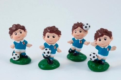 Calciatori Holli e Bengij azzurri