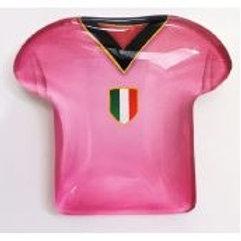 Magnete maglia rosanero bomboniere Comunione Cresima