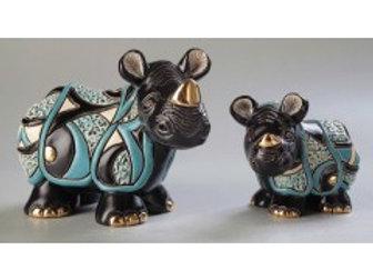 Rinoceronte di giava - De rosa collezione