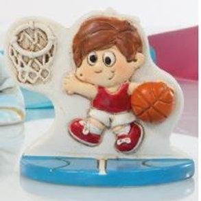 Basket maschio bomboniere Comunione Cresima