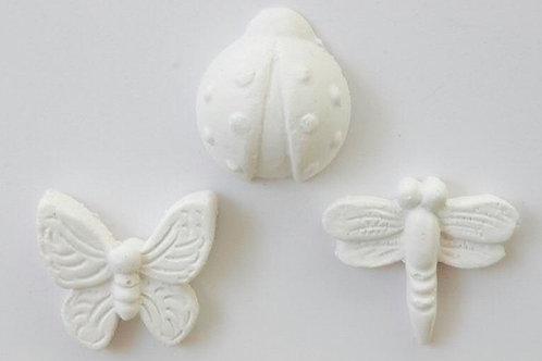 Gessetti profumati assortiti libellula farfalla coccinella