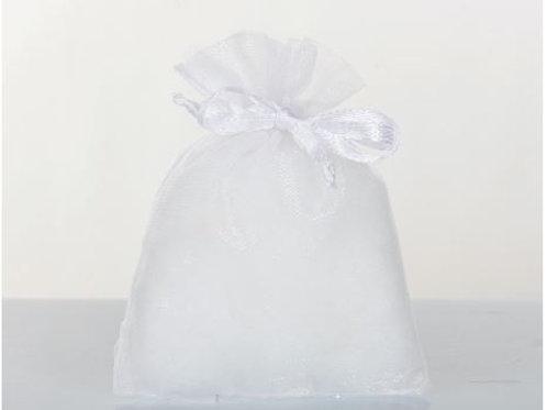 Sacchetto organza bianco