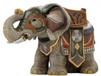 Elefante guerra - De rosa collezione