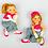 Thumbnail: Magnete Bambine Ginnaste - Ginnastica Artistica