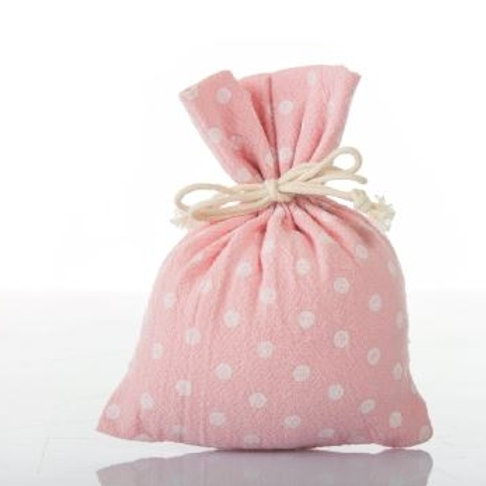 Sacchetto piatto apois rosa