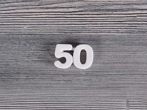 Gessetto Profumato a Forma di 50