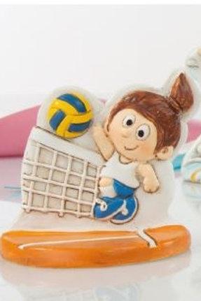 Volley femmina bomboniere Comunione Cresima