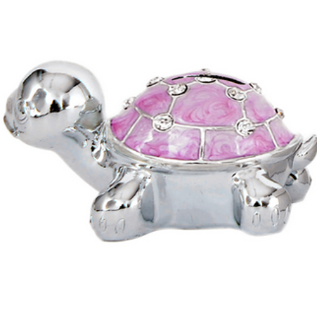 Salvadanaio Tartaruga rosa, bomboniera