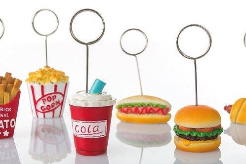 Memoclip Fast food 6 assortiti bomboniere