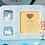 Thumbnail: Portafoto con Bambino in Polvere di Marmo