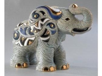 Elefante Africano - De rosa collezione