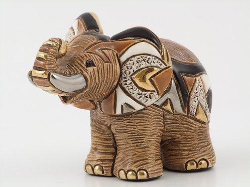 Elefante africano papà - De rosa collezione