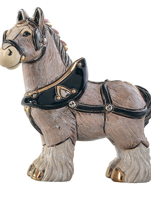 Cavallo scozzese piccolo - De rosa collezione