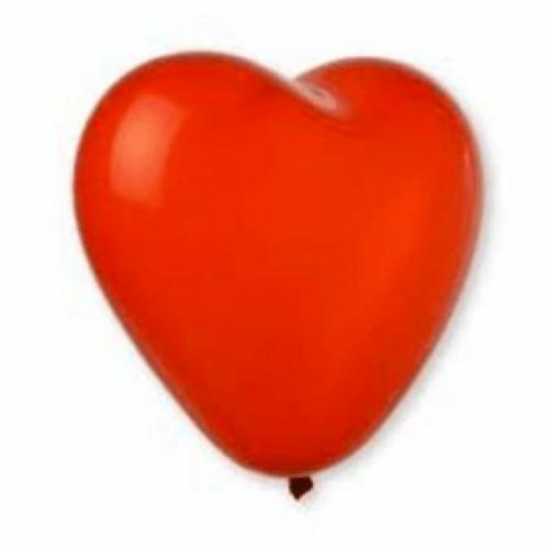 Palloncini gonfiabili a forma di cuore rossi 2 misure