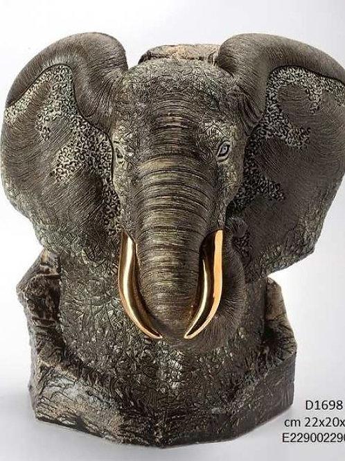 Elefante Nero Busto