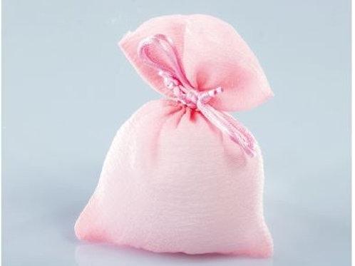 Sacchetto seta rosa