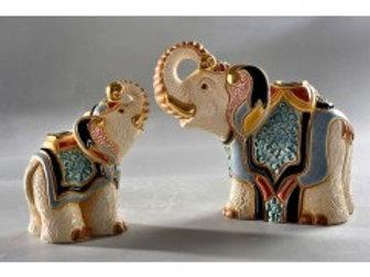 Elefante Jaipir baby - De rosa collezione