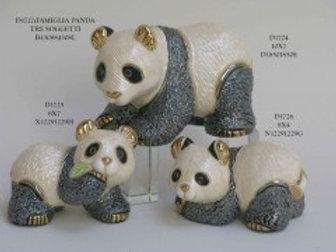 Panda medio - De rosa collezione