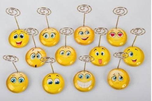 Memoclip smile 12 assortiti