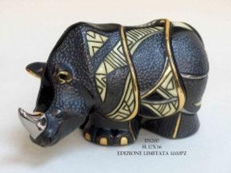 Rinoceronte  grande - De rosa collezione