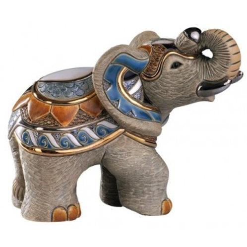 Elefante indiano - De rosa collezione