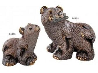 Orso grizzly baby - De rosa collezione