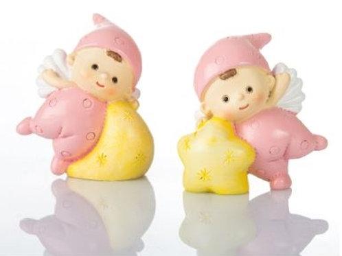 Baby Angelina rosa mini 2 assortiti Bomboniere Nascita Battesimo