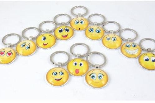 Portachiave smile 12 assortiti