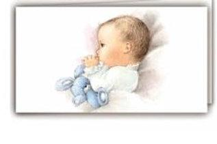 Biglietto neonato bimbo