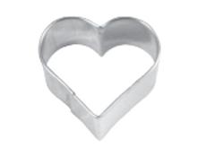 Stampino biscotti cuore cm.6,5