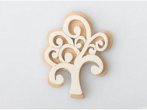 Applicazione legno bianco albero della vita