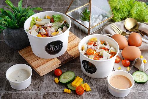 Green Salad Premium Chicken