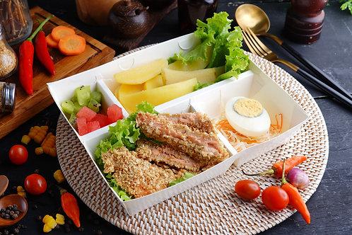 Baked Salmon Katsu